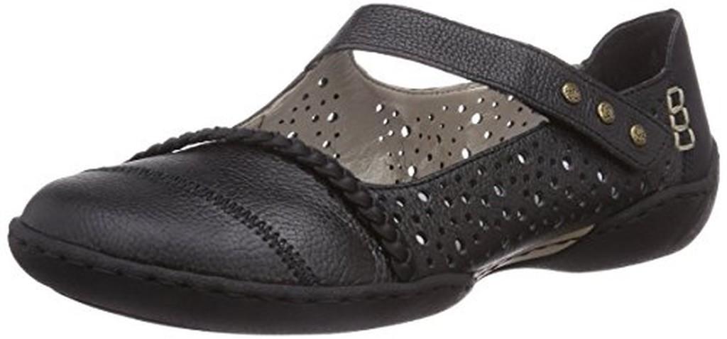 rieker 58855 00 chaussures de ville femme soldes allure chaussure. Black Bedroom Furniture Sets. Home Design Ideas