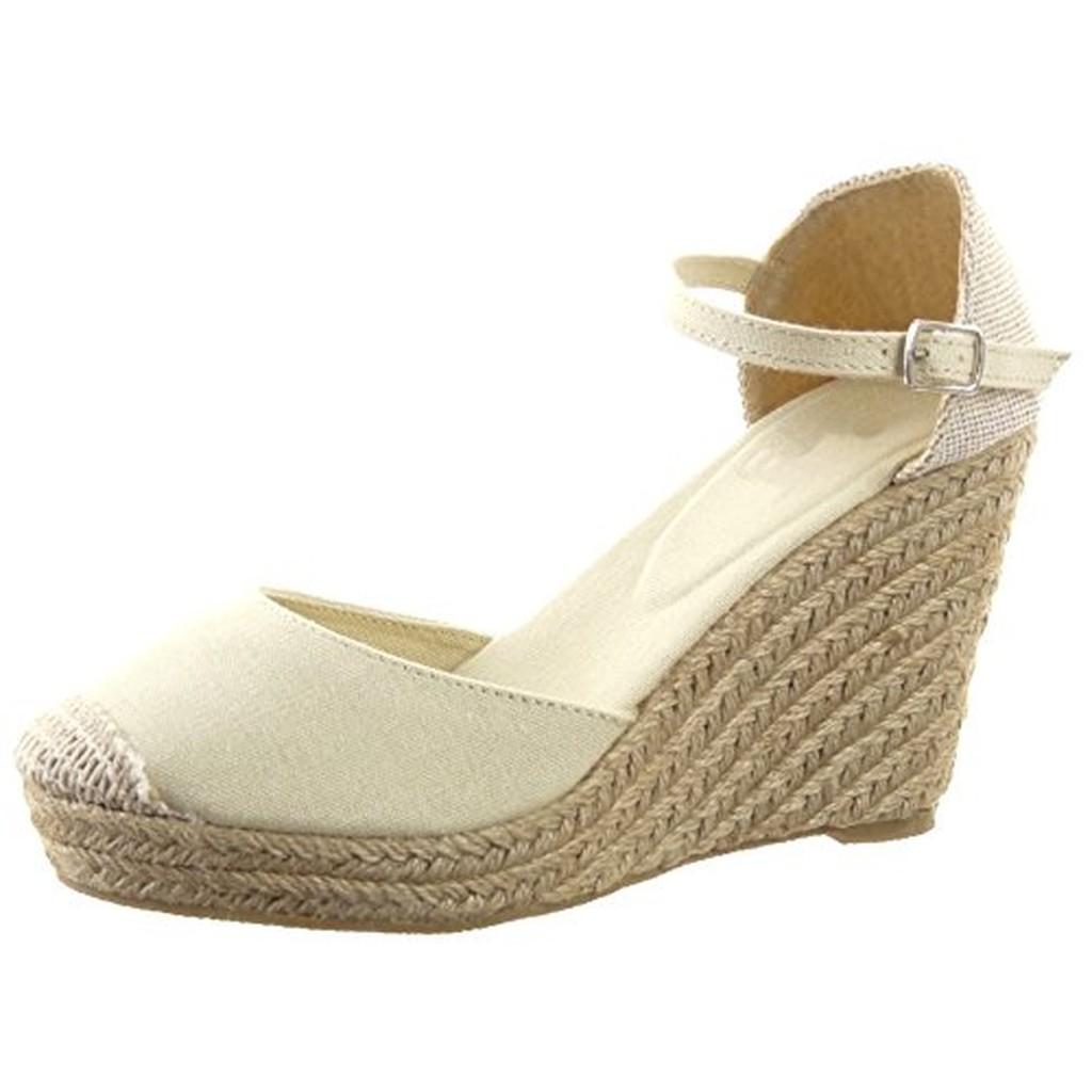 sopily chaussure mode espadrille sandale plateforme hauteur cheville femmes corde talon. Black Bedroom Furniture Sets. Home Design Ideas