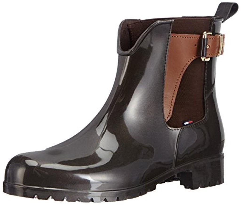 tommy hilfiger oxley 2z bottes pluie cheville femme soldes allure chaussure. Black Bedroom Furniture Sets. Home Design Ideas