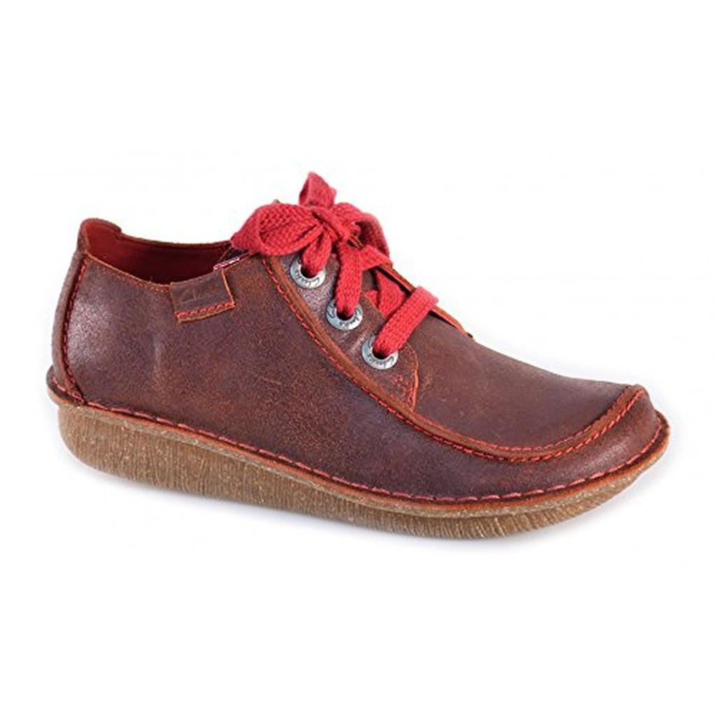Clarks Funny Dream Bordeaux z1N7j3