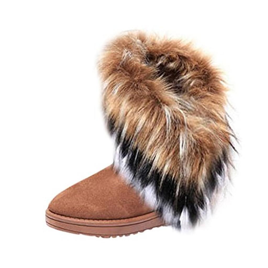 hee grand femme bottes neige imitation fourrure de renard soldes allure chaussure. Black Bedroom Furniture Sets. Home Design Ideas