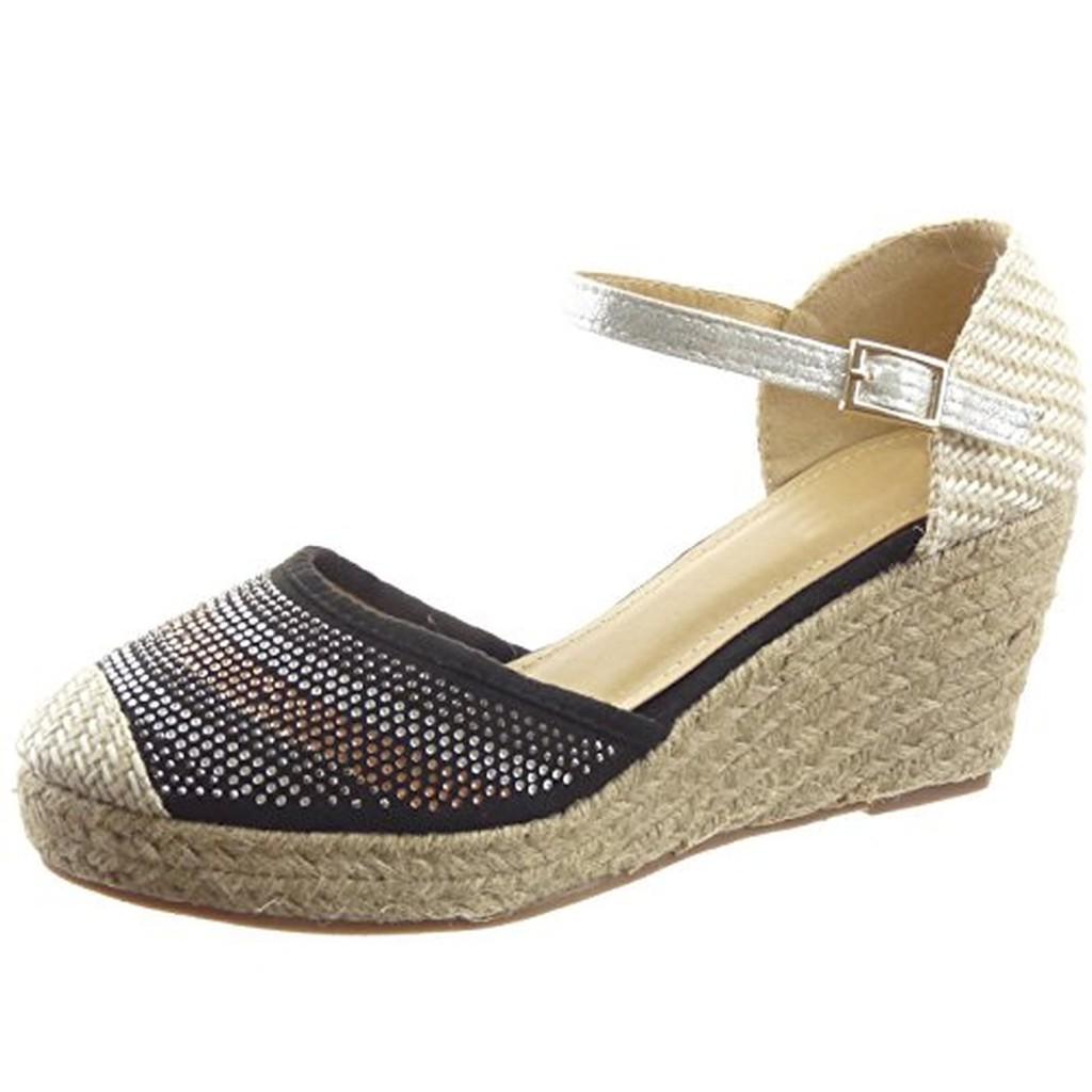 sopily chaussure mode espadrille sandale hauteur. Black Bedroom Furniture Sets. Home Design Ideas