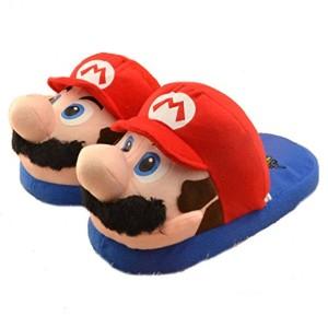 Beedice® (Adulte) Super Mario Brothers Peluche Pantoufles Anime Coton Pantoufles chaussures d'hiver 2016