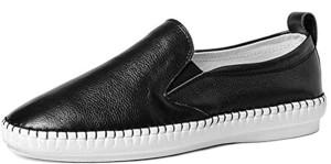 DADAWEN Femme Loafer Chaussure en Cuir 2016