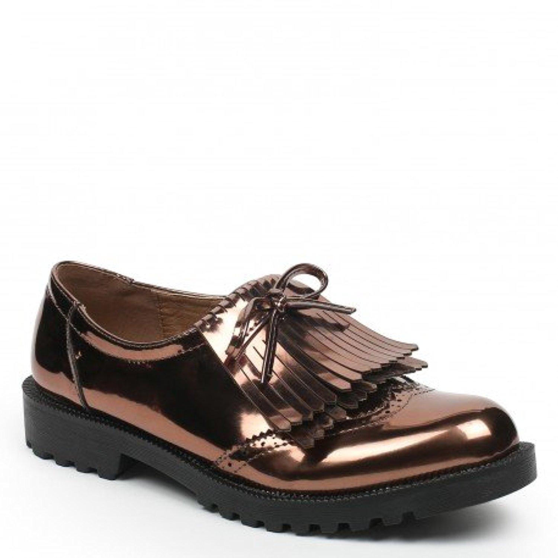 ideal shoes derbies franges et semelle crant e pascalina 2016 soldes allure chaussure. Black Bedroom Furniture Sets. Home Design Ideas