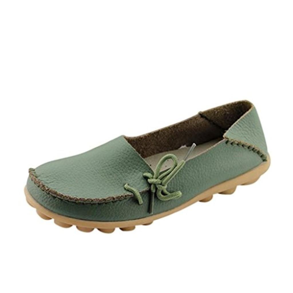 ilory mocassins femmes loisirs confort chaussures plates loafers en cuir chaussures de conduite. Black Bedroom Furniture Sets. Home Design Ideas