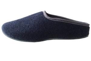 PantOUF Chaussons tendance Skei incroyablement confortables. Les chaussons sont souples, légers, doux, extrêmement silencieux, pour femmes/hommes, bleu 2016