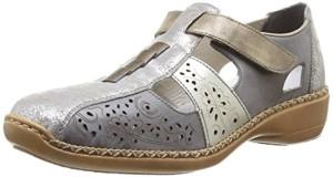 Rieker 41339/90, Chaussures de ville femme 2016