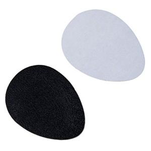 TOOGOO(R) Noir autocollant antiderapant de semelle pour les chaussures auto-adhesif en caoutchouc 2016