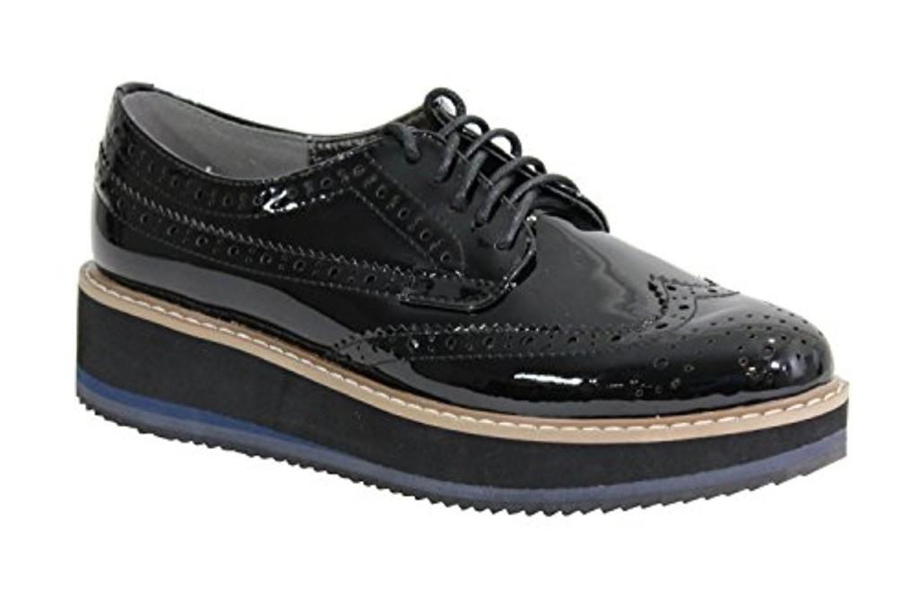 by shoes chaussure avec plateforme style derbies femme 2018 soldes allure chaussure. Black Bedroom Furniture Sets. Home Design Ideas