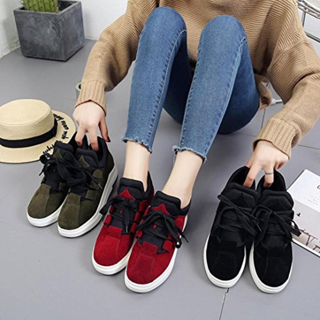 Sneaker Souple Coton Mode Tout Tissu Femme Chaussures Légères QinMM 7wTf5x0q