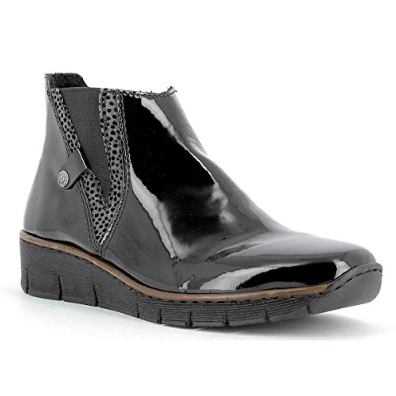 rieker chaussures montantes femme rieker 73771 00 bottes bottines 36 au 41 2018. Black Bedroom Furniture Sets. Home Design Ideas