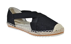 By Shoes – Espadrille Plate Style Brillant – Femme 2018
