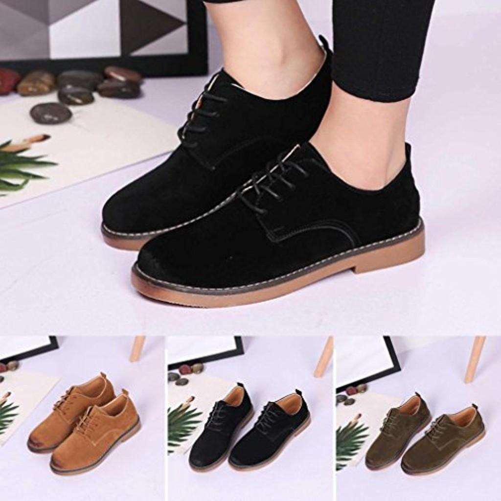 derbies chaussures de ville femme qinmm suede mode martin classique mocassins chaussures lacet. Black Bedroom Furniture Sets. Home Design Ideas