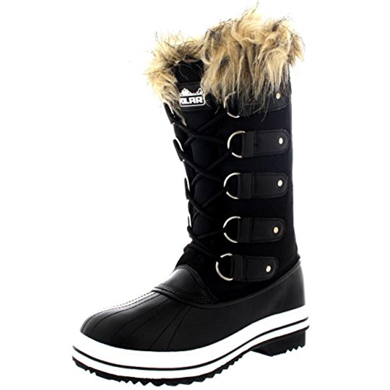 femmes fourrure brassard caoutchouc hiver neige pluie chaussure bottes 2018 soldes allure. Black Bedroom Furniture Sets. Home Design Ideas