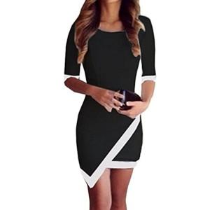 Robe Femme, Amlaiworld Sexy Robe Bandage Bodycon Robe Soirée Mini robe irrégulière 2018