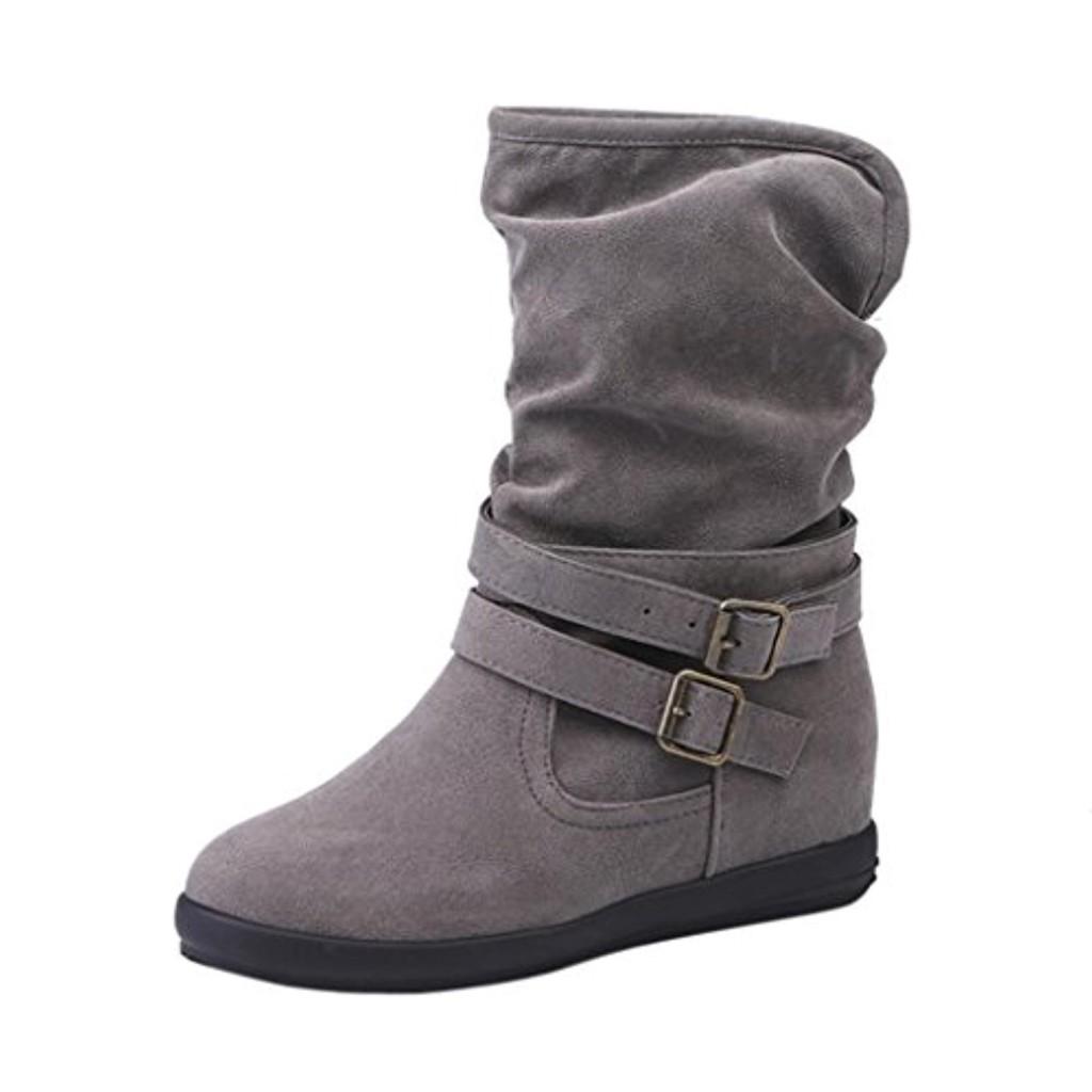 bottes femme hiver shobdw bottines plates chaussures noir marron 2018 soldes allure chaussure. Black Bedroom Furniture Sets. Home Design Ideas