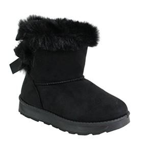 By Shoes Bottine Fourrée Style Daim Pour Enfant 2018