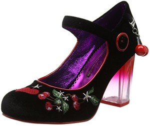 Poetic Licence by Irregular Choice Hello Morello, Mary Jane femme 2018