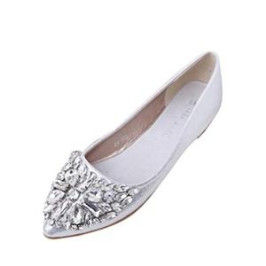 OverDose Mocassins Larges à Bout Pointu Ballerines Femme Similicuir Mules Chaussures Plates Flat 2018