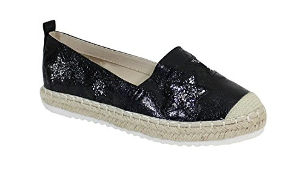 By Shoes Espadrille Plate Style Brillant - Femme 2018