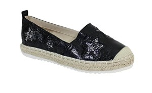 By Shoes Espadrille Plate Style Brillant – Femme 2018