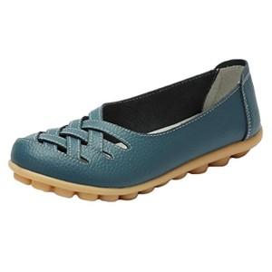 Heheja Mocassins pour Femme Loafers Casual Bateau Chaussures de Ville 2018