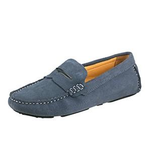 Shenduo Classic, Mocassins femme daim – Loafers multicolore – Chaussures bateau & de ville confort D9123 2018