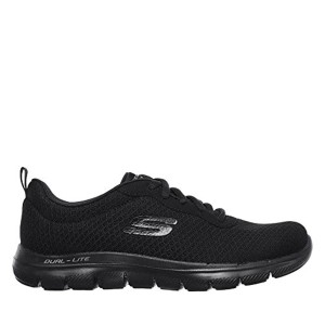 Skechers Flex Appeal 2.0 Newsmaker Women's Trainers Fitness Lite Weight Black 2018