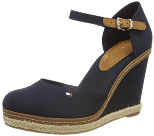 Tommy Hilfiger Iconic Basic Closed Toe Wedge, Espadrilles Femme 2018