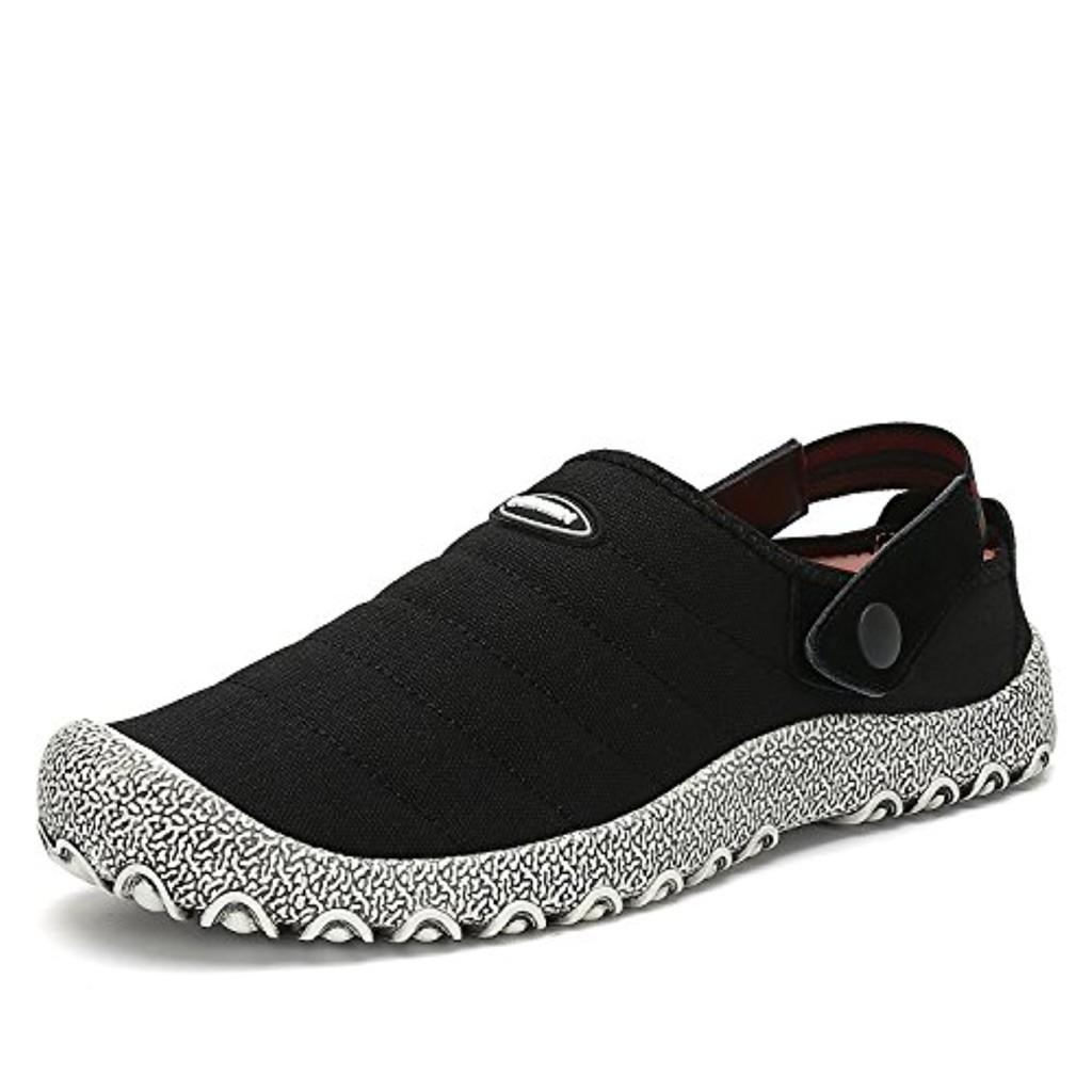 Voovix Slip-On Chaussures en Toile Baskets Mode Basses Pantoufles Plates Anti-Dérapantes Chaussures D'Intérieur et D'Extérieur Pour Hommes et Femmes 2018