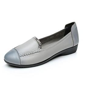 XZGC Chaussures Plates avec des Chaussures en Cuir Doux Printemps Occasionnels 2018