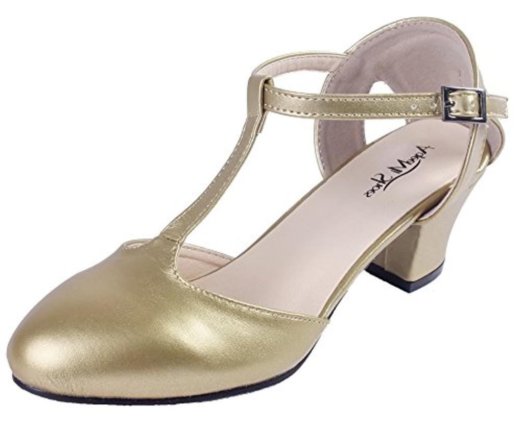 AgeeMi Shoes aux Femmes Buckle PU à Talon Correct Chaussures Légeres 2018