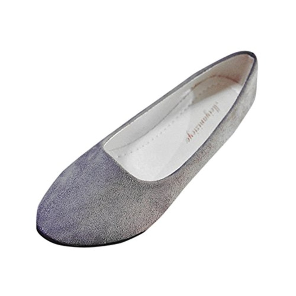 Ballerines Plates Pointure Large,OverDose Femme Casual Chaussures Mariage en Suède Style Mules 2018