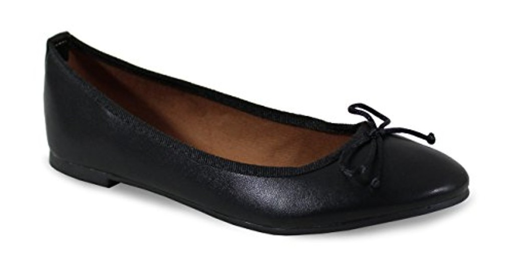 By Shoes Ballerine Plate Style Cuir - Femme 2018