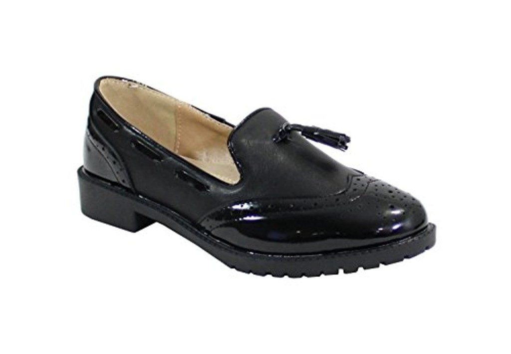 By shoes - Derbies Plate Style Vernis - Femme 2018