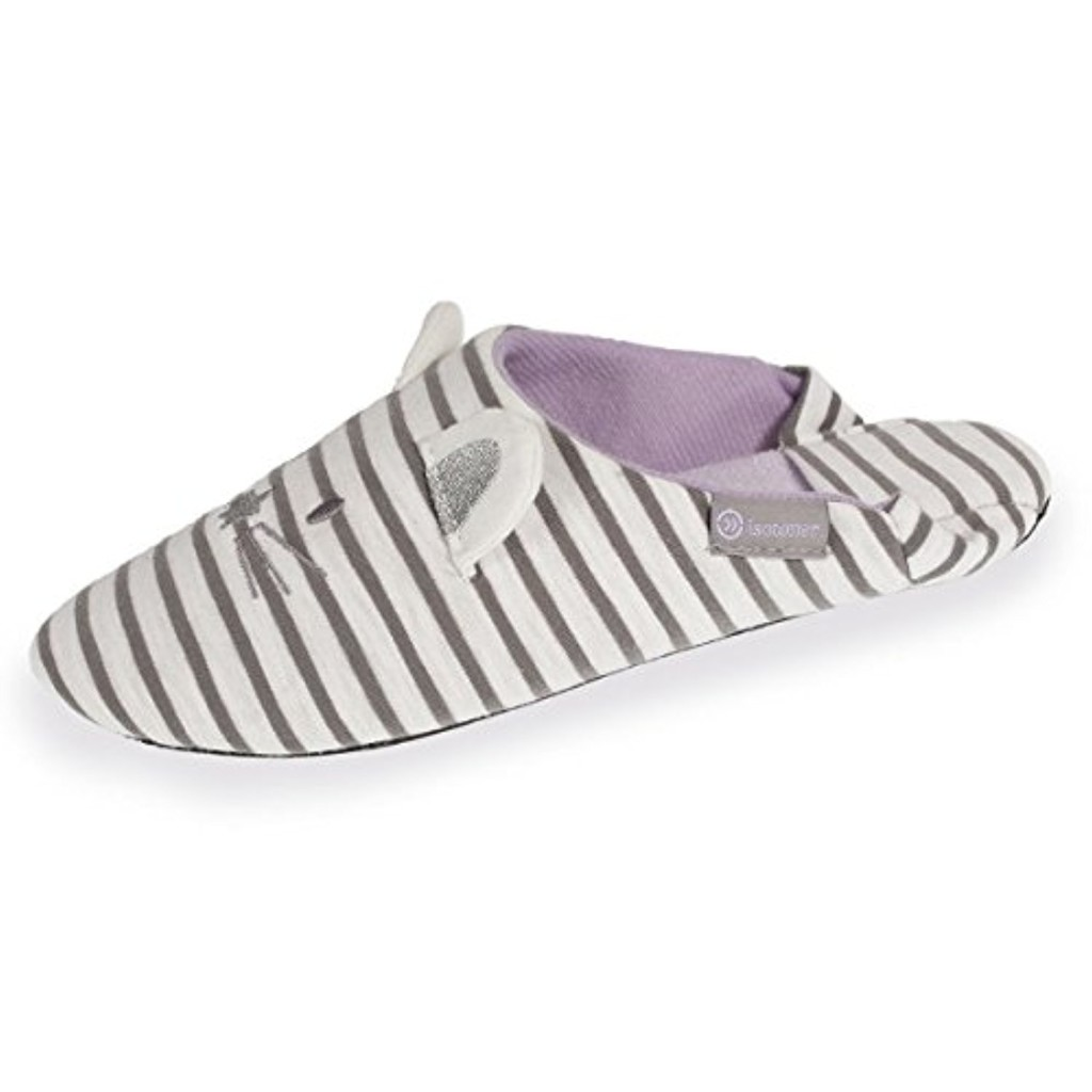 Isotoner Chaussons Babouches Femmes Souris 2018