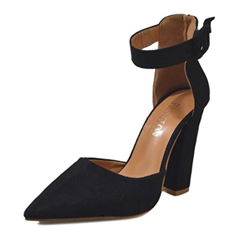 OverDose,Chaussures Pointues Pointure Large à Talons Hauts Sexy Femme Sandales High Heels 2018