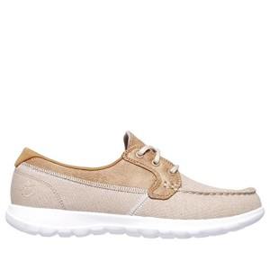 Skechers Go Walk Lite-Coral, Chaussures Bateau Femme 2018