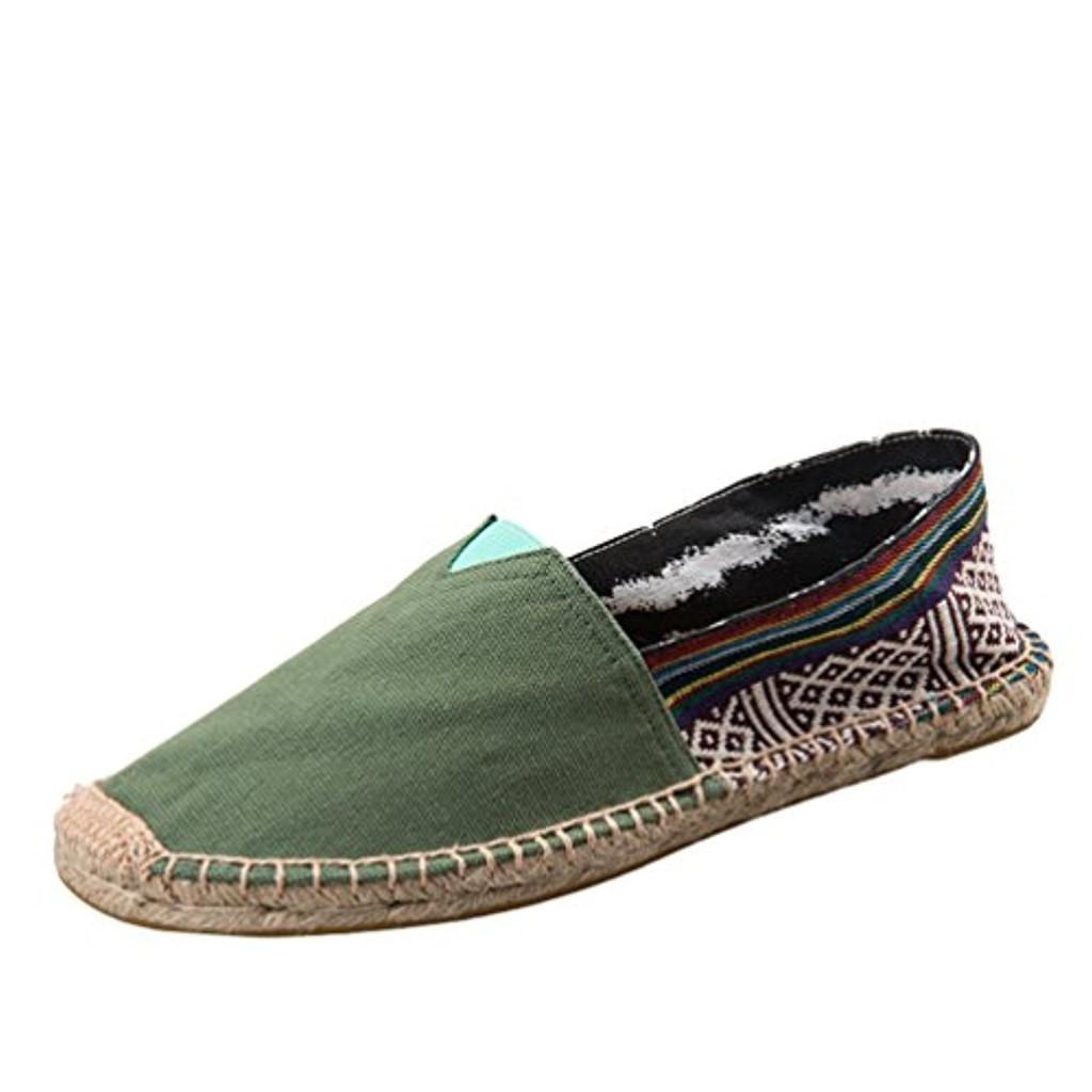 Dooxi Hommes Femmes Amoureux Décontractée Plat Loafers Chaussures Mode Confort Espadrilles 2018