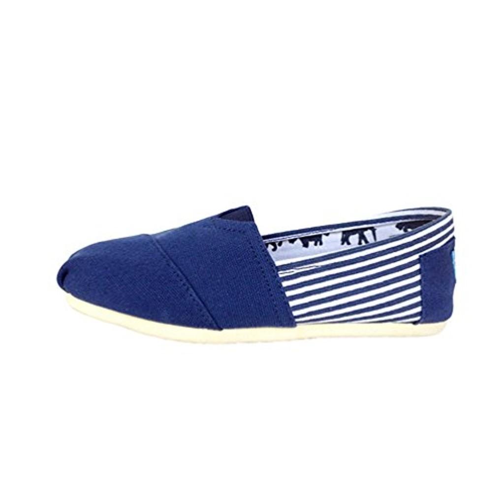 Dooxi Hommes Femmes Décontractée Plat Loafers Chaussures Mode Confort Couleur Unie Espadrilles 2018