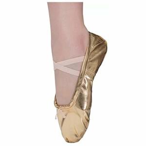 Dreamone Chaussures de Ballet Demi Pointe Ballerine Chaussures de Danse Gymnastique Yoga Chaussons Femme Fille enfant 2018