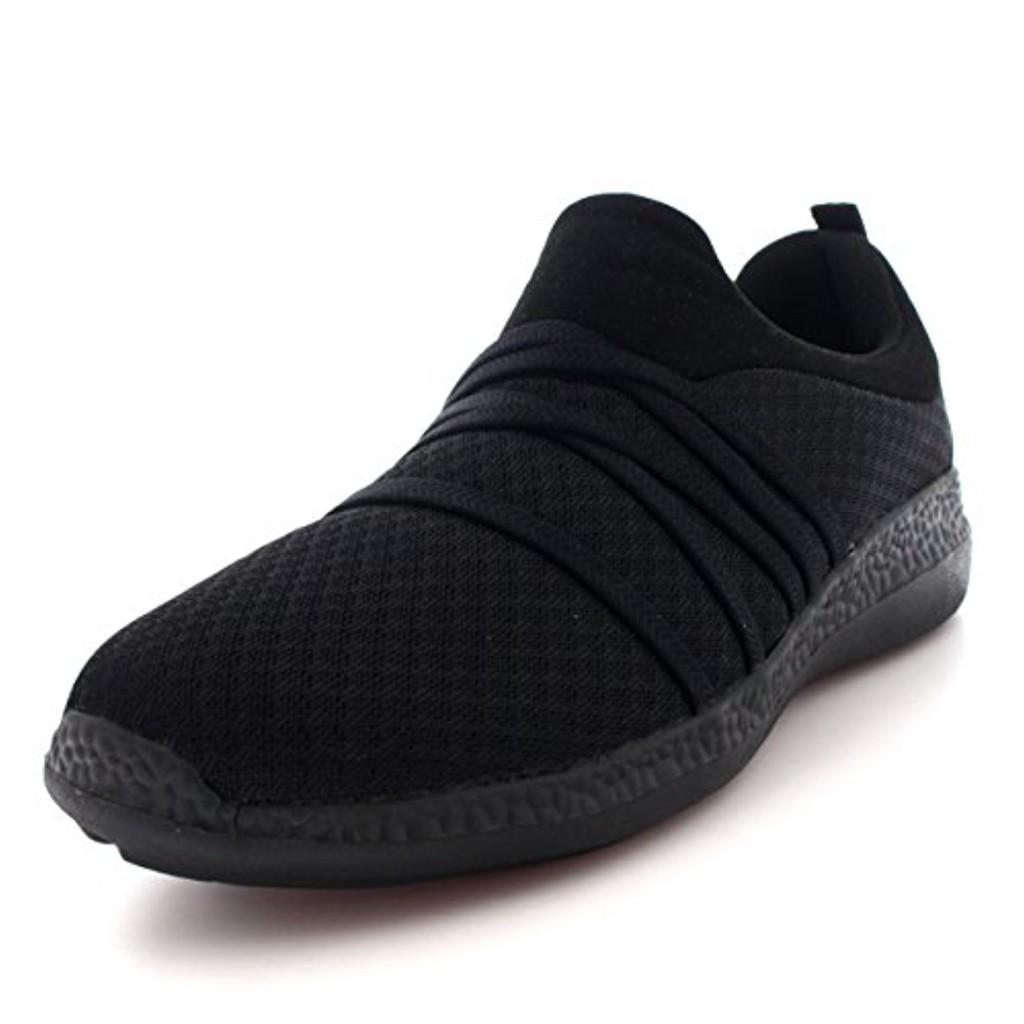 GETFIT Femmes Poids Léger Engrener en Marchant Confortable Rembourré Chaussures Formateurs 2018