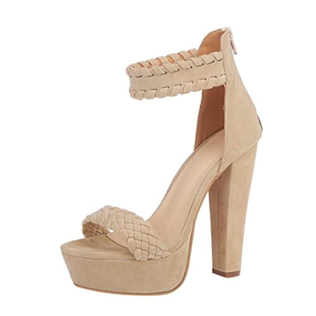 GreatestPAK Femme dames sandales d'été imperméables Hauts talons Rome Party Gladiator à talons compensés élégantes chaussures mode cheville sangle haute plate-forme 10 grande taille 2018