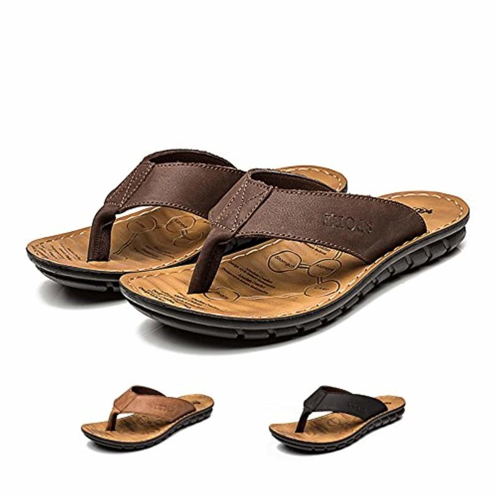 Harrms Sandales et pantoufles d'été antidérapantes hommes & femme Chaussons de salle de bain Couples Chaussures de plage décontractées 2018