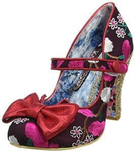 Irregular Choice Fancy This, Mary Janes Femme, Noir 2018