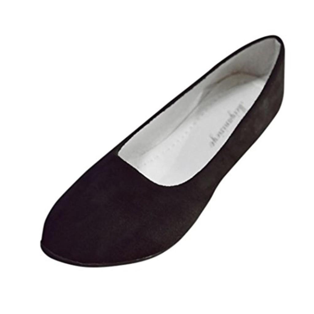 LUCKYCAT Prime Day Amazon, Sandales d'été Femme Chaussures de Été Sandales à Talons Chaussures Plates Sandales Ballet de Loisirs Chaussures de Danse Grande Taill Multi-Couleur 2018