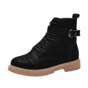 Bottes Hautes Daim Femme,Overdose Casual Hiver Automne Chaussures Plates Bottines Mode Boots Femmes Comfort Flat 2018