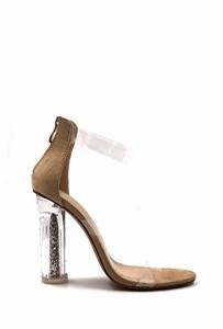 CHIC NANA . Chaussure Femme Mode Bottine à Talon Transparent. 2018
