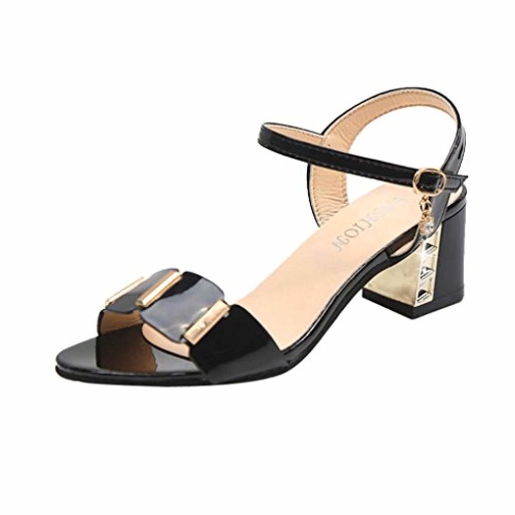 Amazon Été Day Prime D'été Femme De Luckycat Sandales Chaussures 1CqFwgI